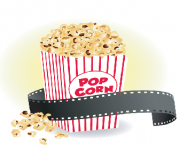 Movie with popcorn clipart the arts image pbs learningmedia
