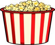 Popcorn kernel clipart free clipart images