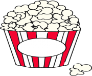 Popcorn free to use clipart 2