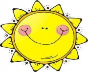Sun on good morning sunshine lesson planning and free clip art