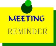 General meeting reminder clipart free clip art images image 5