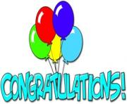 Free animated congratulations clipart