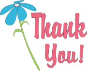 thank you clipart thank you flower png zkK9Zr clipart