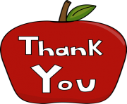thank you apple image thank you apple clip art fWGWR2 clipart