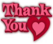 thank you heart clip art YbpOTU clipart