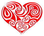 Transparent Ornament Heart PNG Clipart