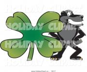 larger preview holiday vector clip art of a black jaguar st patricks yKLoYp clipart