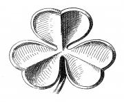Public domain clip art shamrocks st patrick