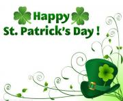 St patricks day happy st patrick clipart