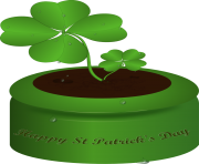 St patricks day celebrating my irish heritage with st patrick clipart
