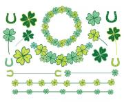60 off sale clipart clip art clovers st patricks day four leaf 0ftL9c clipart