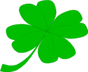 good luck green irish leaf luck saint patrick s day shamrock JzQuSa clipart