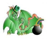 st patrick s day dragon CIshyG clipart