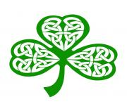Public domain clip art shamrocks st patricks day shamrock clip art