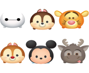 TsumTsum FATHEAD Collection