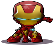 cartoon iron man clipart
