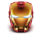 ironman head face clipart png