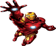 Iron Man Hd high quality clipart image png
