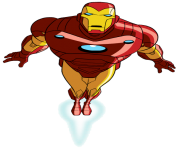 iron man clipart ironman fly