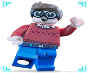 Dick Grayson Lego from Batman Lego Movie Clipart