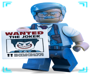 Gordon Lego from Batman movie clipart