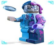 Double Face Lego Batman Clipart