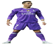 cristiano ronaldo purple tshirt real madrid 2018 png