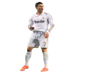cristiano ronaldo after a goal png clip art