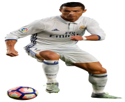 cristiano ronaldo png running with a ball png clipart