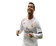 ronaldo happy after a goal hala madrid png