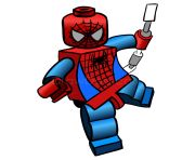 lego spiderman clipart image