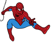 spiderman clip art jump png image rh clipart info spiderman clipart images