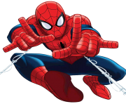 free spiderman png clipart image