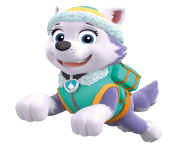 everest jumping paw patrol clipart png