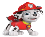 marshall smile paw patrol clipart png
