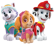 marshall skye everest paw patrol clipart png