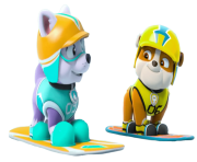 everest and rubble paw patrol clipart png