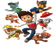 ryder and his dogs paw patrol clipart png