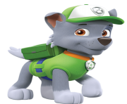 rocky paw patrol clipart png