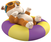rubble take it easy paw patrol clipart png