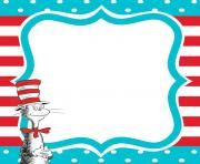 dr seuss printables dr seuss printable invite birthday ideas border
