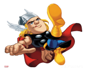 cool thor clipart marvel