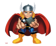 thor poster marvel super hero squad clipart