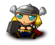 thor baby clipart png