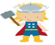 thor kid clip art png