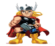thor ready for fight clipart png