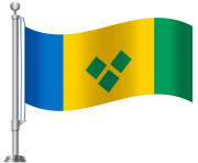 St Vincent and The Grenadines Flag PNG Clip Art
