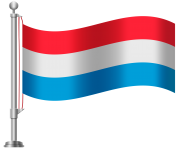 Luxembourg Flag PNG Clip Art