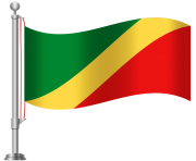 Republic Of The Congo Flag PNG Clip Art