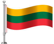 Lithuania Flag PNG Clip Art
